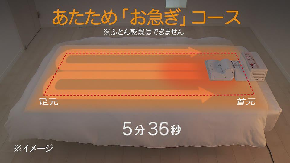 ふとん乾燥機 RF-EA20 製品紹介